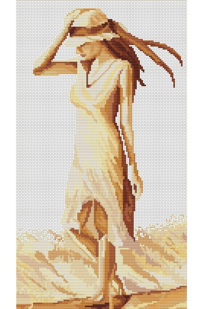 Walk I -  Cross Stitch Kit