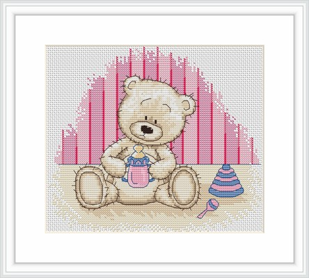 Baby Bianca -  Cross Stitch Kit