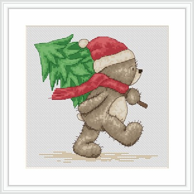 Luca-S Bruno Brings the Tree Cross Stitch Kit