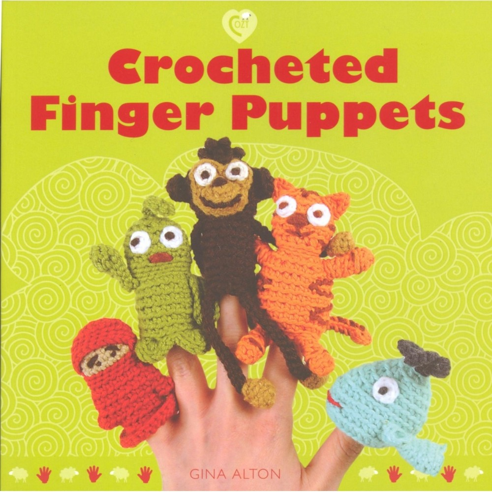 Crochet Books Crocheted Finger Puppets Book