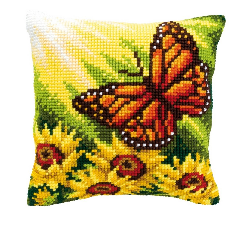Vervaco Red Admiral Cross Stitch Kit