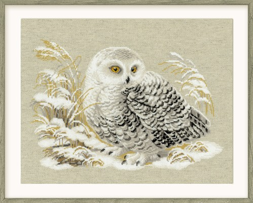 RIOLIS Wise Owl Cross Stitch Kit