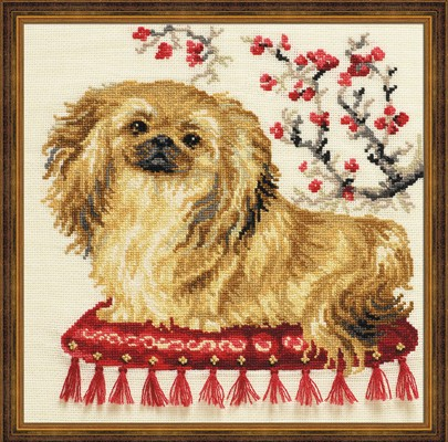 RIOLIS Pekinese Cross Stitch Kit