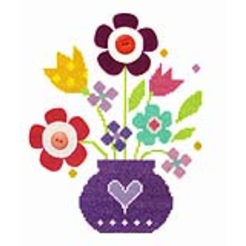 Bouquet -  Cross Stitch Kit