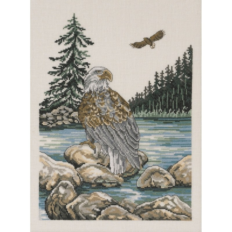 Sea Eagle - Eveweave -  Cross Stitch Kit
