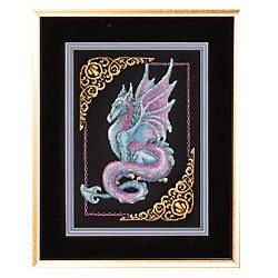 Mythical Dragon -  Cross Stitch Kit
