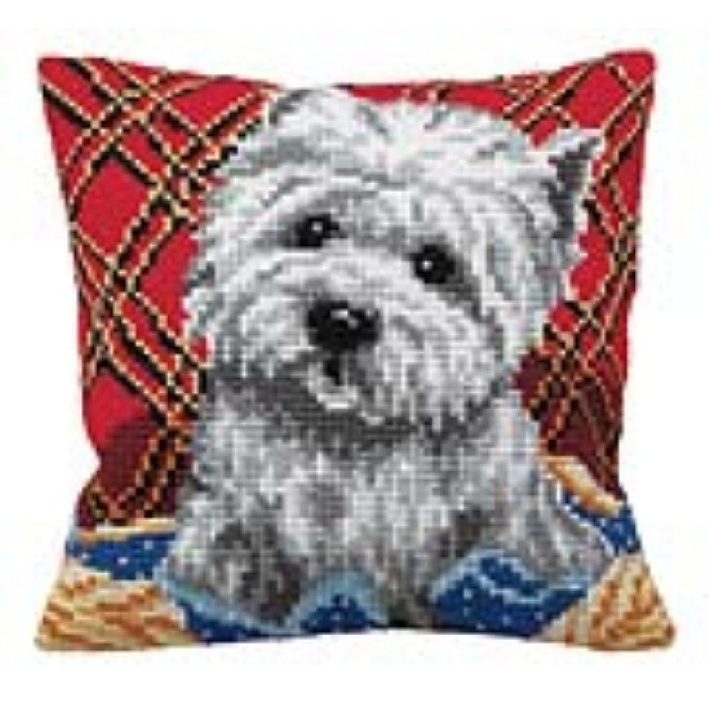 Collection D'Art Bichon Cross Stitch Kit