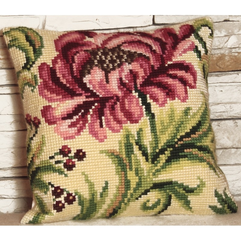 Collection D'Art Wild Rose I Cross Stitch Kit