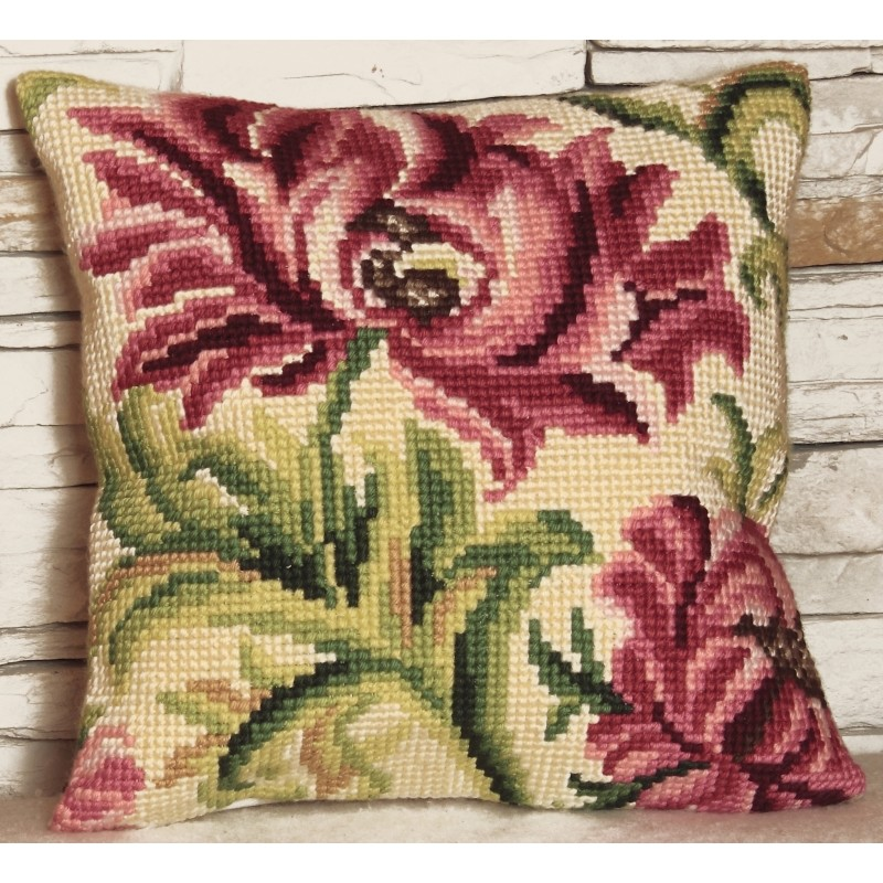 Collection D'Art Wild Rose II Cross Stitch Kit