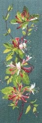 Honeysuckle Panel - Aida -  Cross Stitch Kit