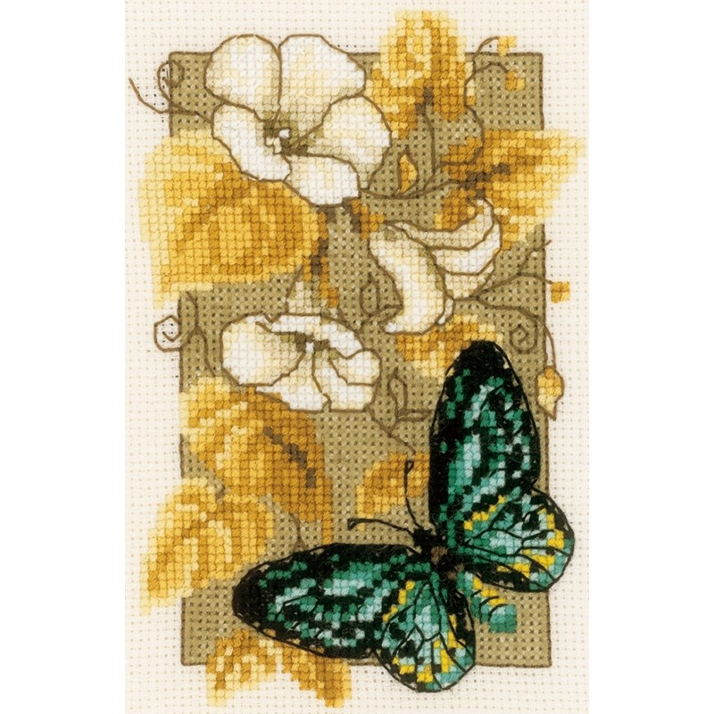 Butterfly 2 -  Cross Stitch Kit