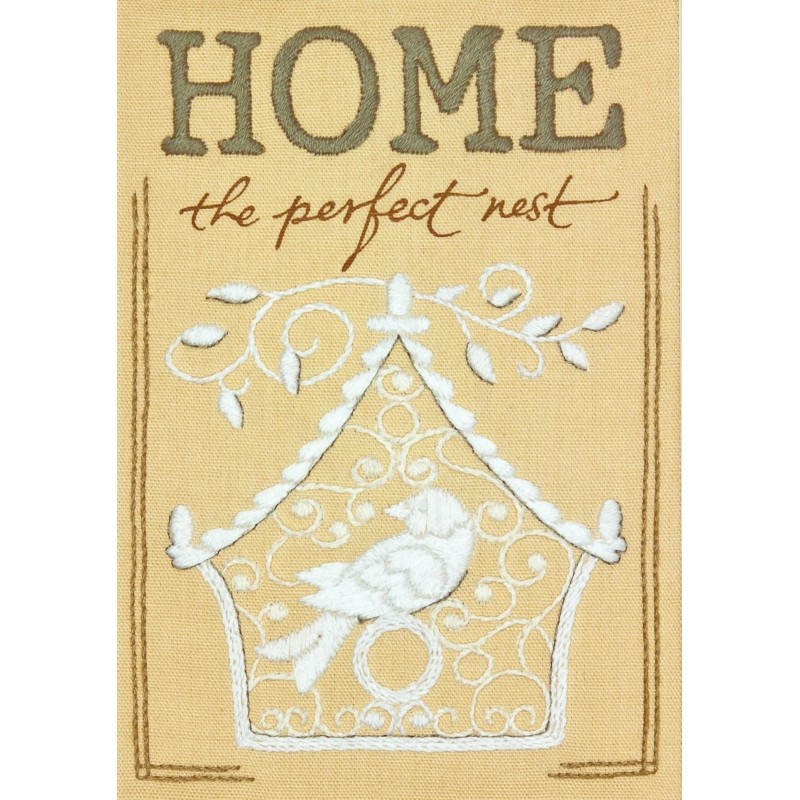 Perfect Nest -  Embroidery Kit