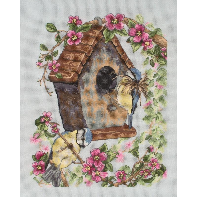 Anchor The Bird House Cross Stitch Kit