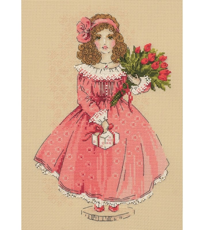 RIOLIS Doll Sophie Cross Stitch Kit