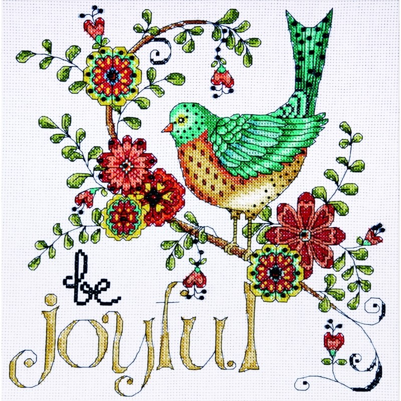 Be Joyful -  Cross Stitch Kit