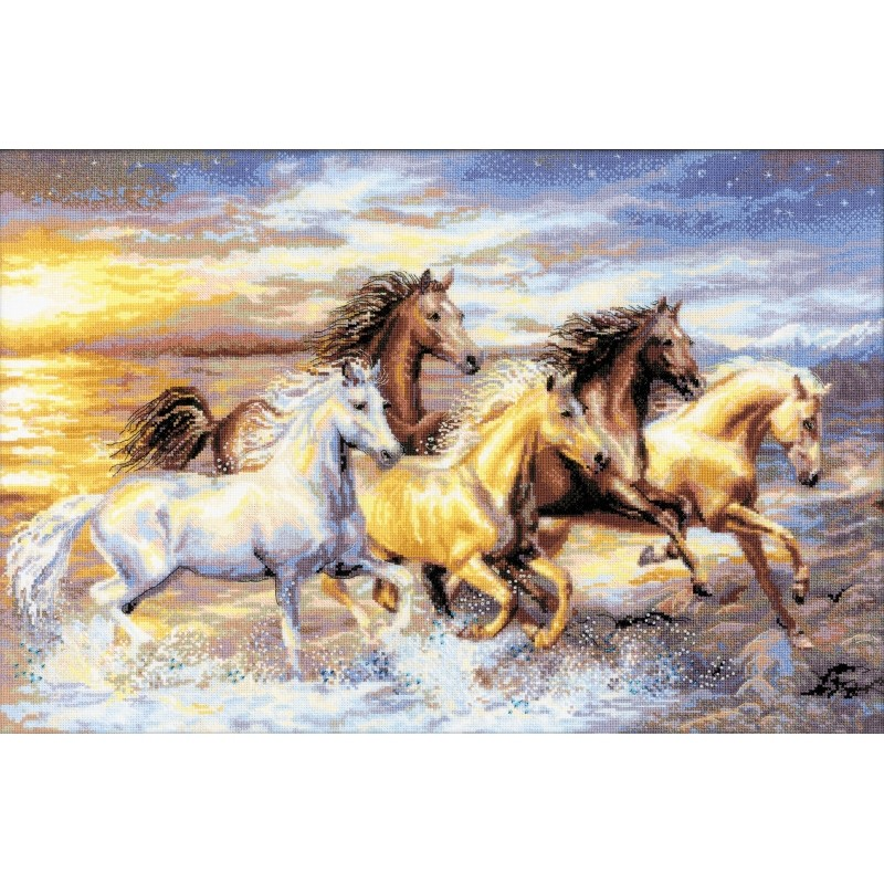 In the Sunset -  Cross Stitch Kit