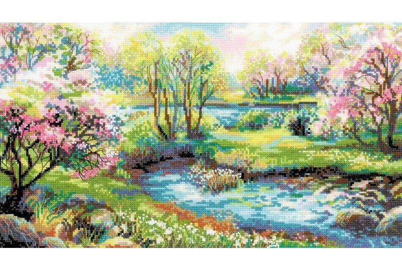 RIOLIS The Kingdom of Spring Cross Stitch Kit