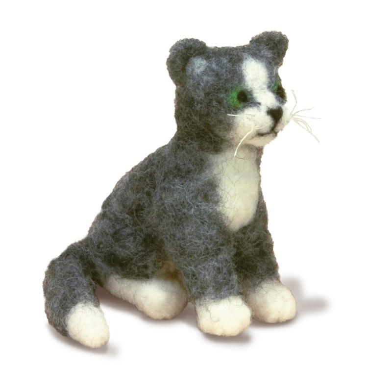 Dimensions Cat Needle Felt Kit Craft Kit
