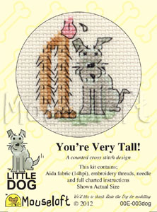 Mouseloft You're Very Tall! Cross Stitch Kit