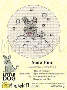 Snow Fun -  Cross Stitch Kit