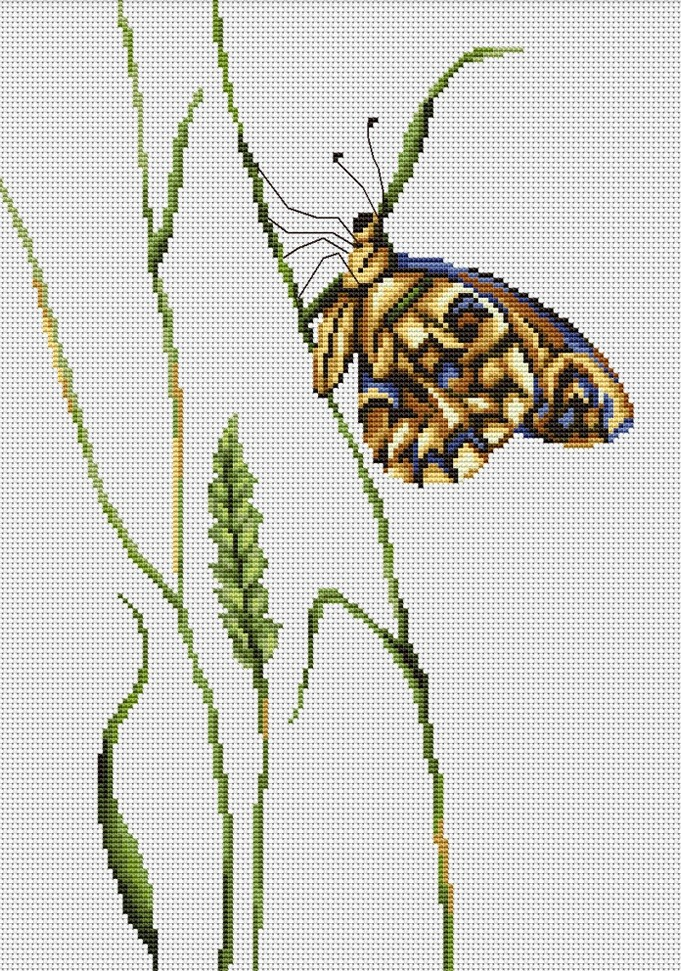 Luca-S Spirit of Summer Cross Stitch Kit