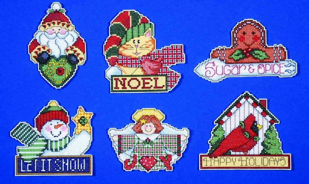 Design Works Crafts Signs of Christmas Ornaments Cross Stitch Kit