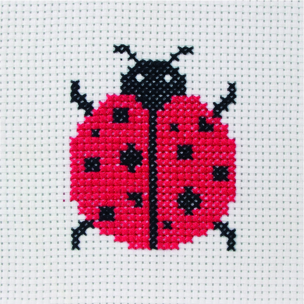 Ladybird -  Cross Stitch Kit
