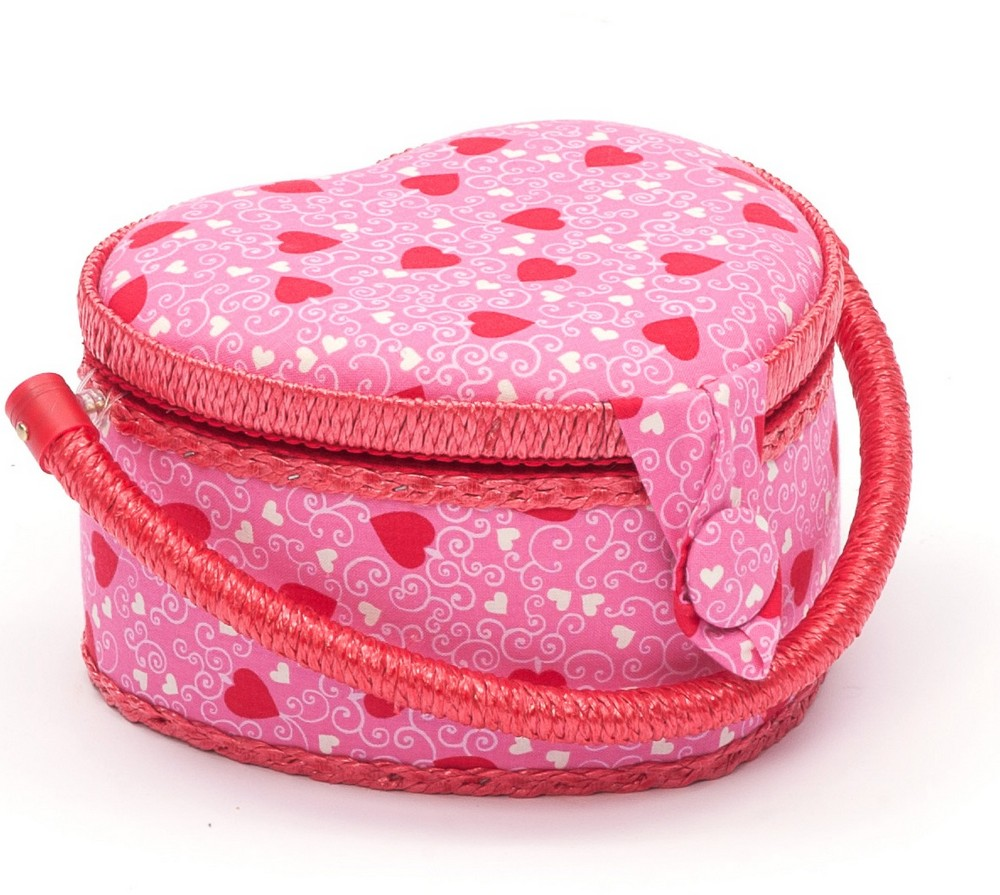Hobby Gift Heart Sewing Box Small