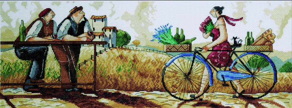 The Delivery -  Cross Stitch Kit