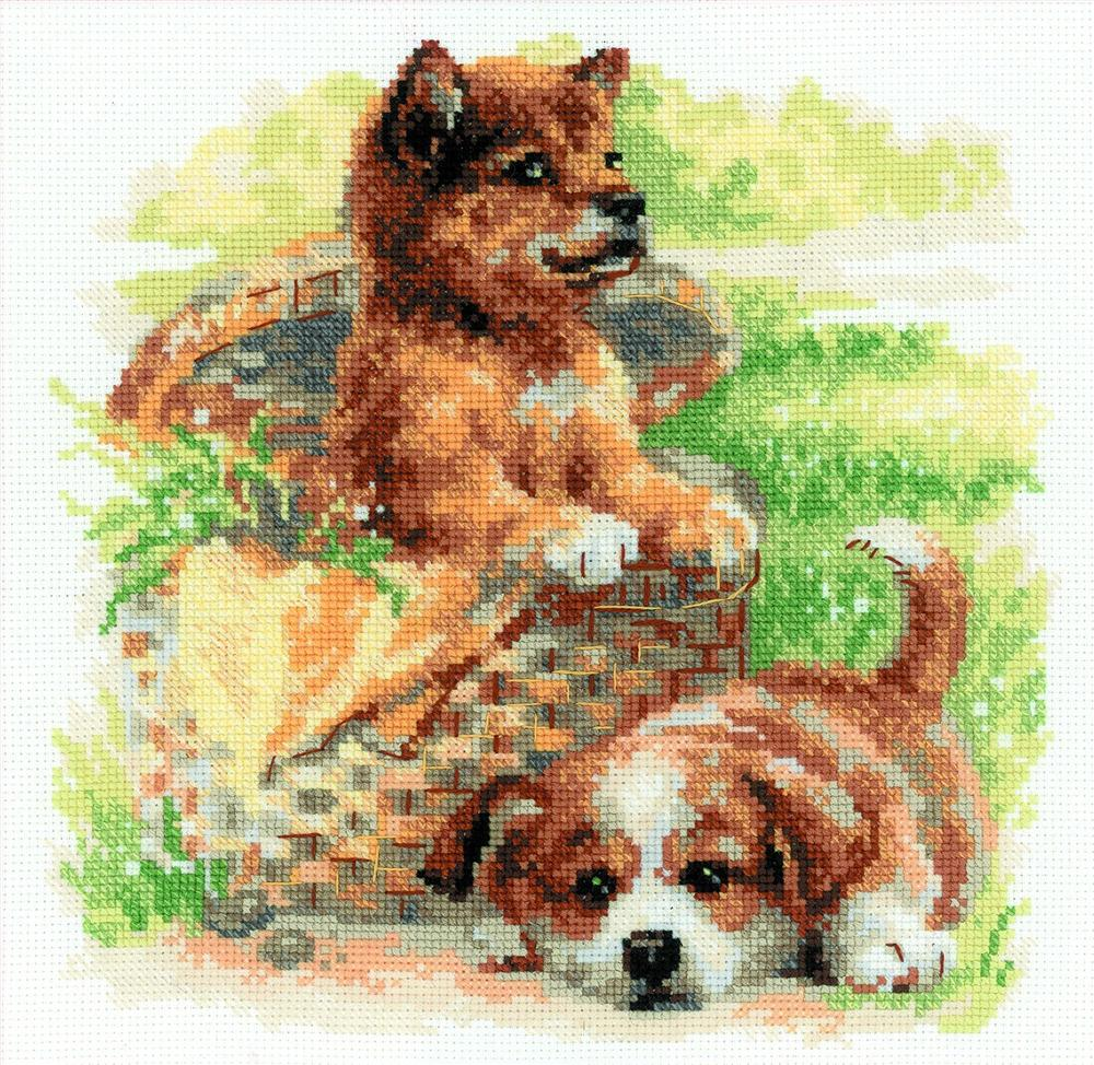 Tender Age -  Cross Stitch Kit