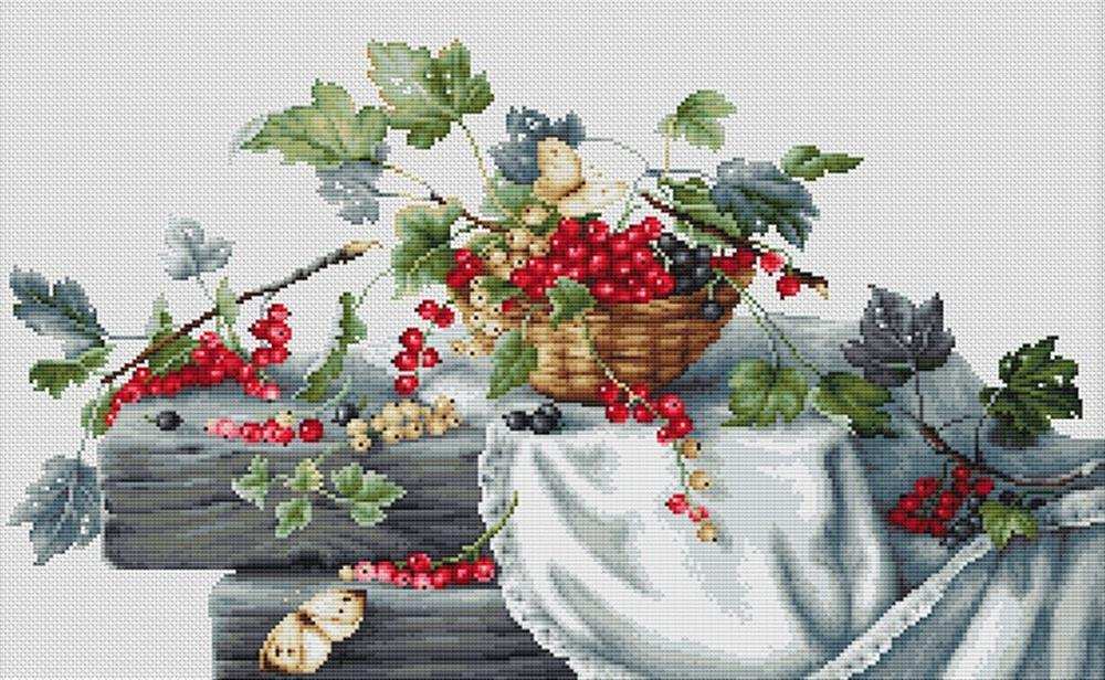 Redcurrants II -  Cross Stitch Kit