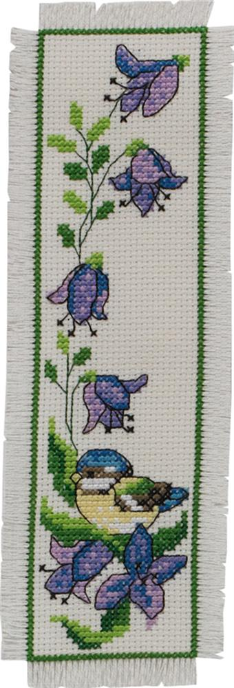 Bluebell Bookmark -  Cross Stitch Kit