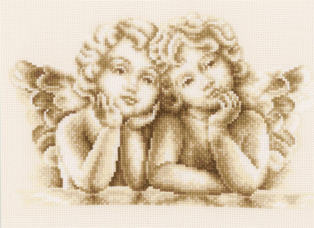 Dreaming Angels -  Cross Stitch Kit