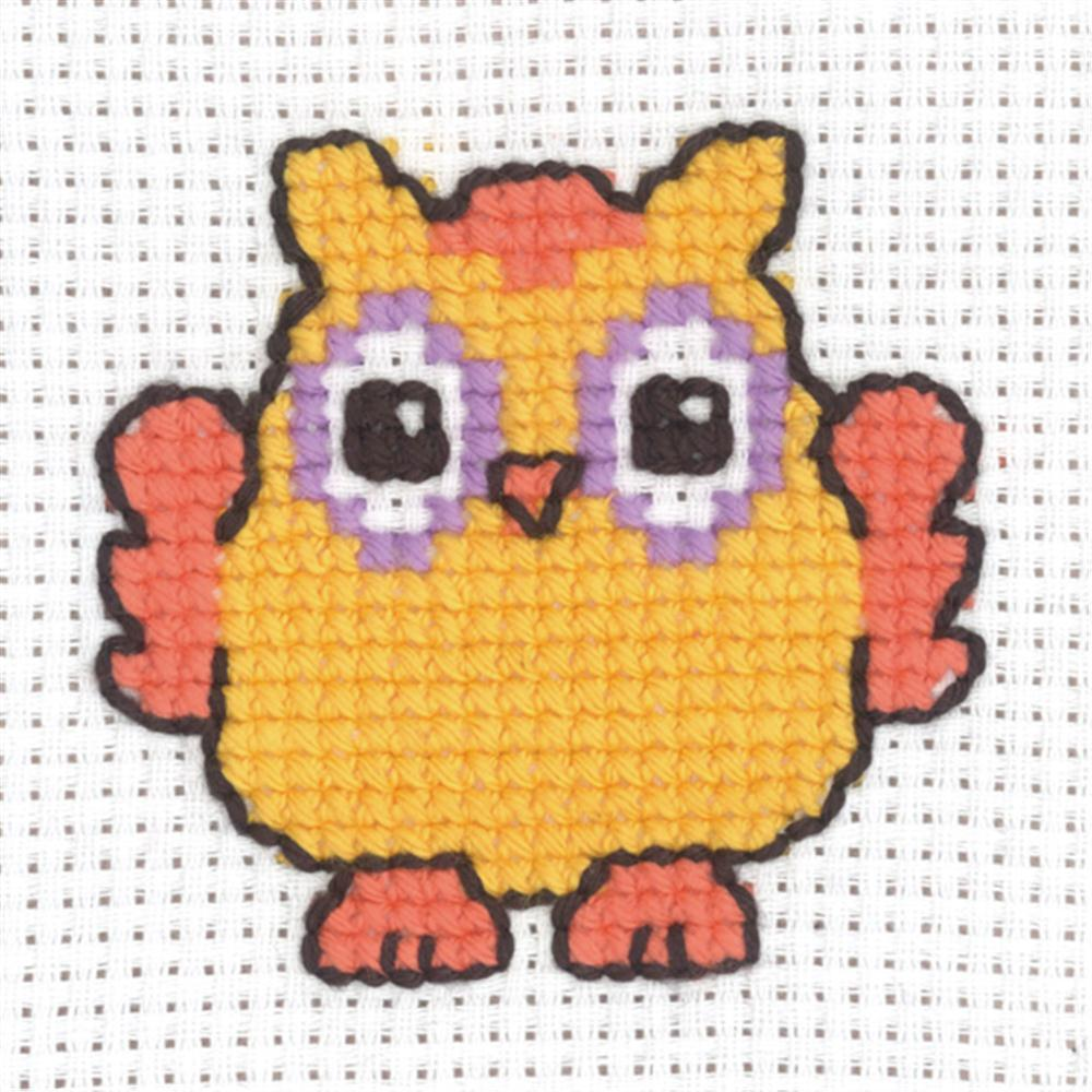 Permin Owl Cross Stitch Kit