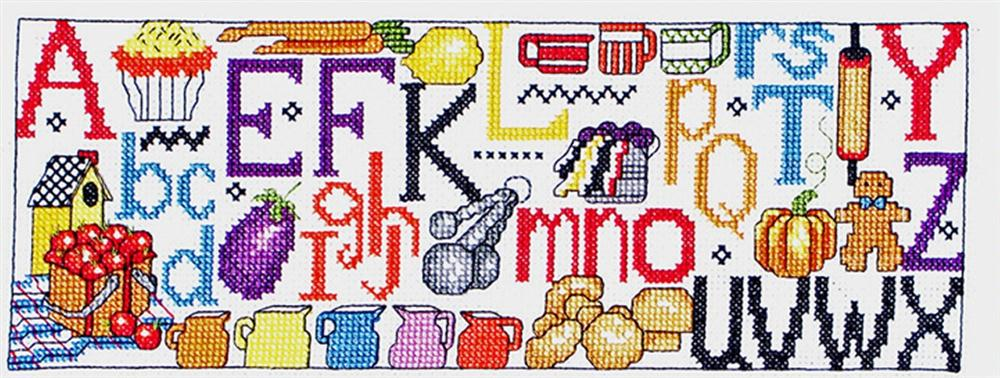 Kitchen Sampler -  Cross Stitch Kit