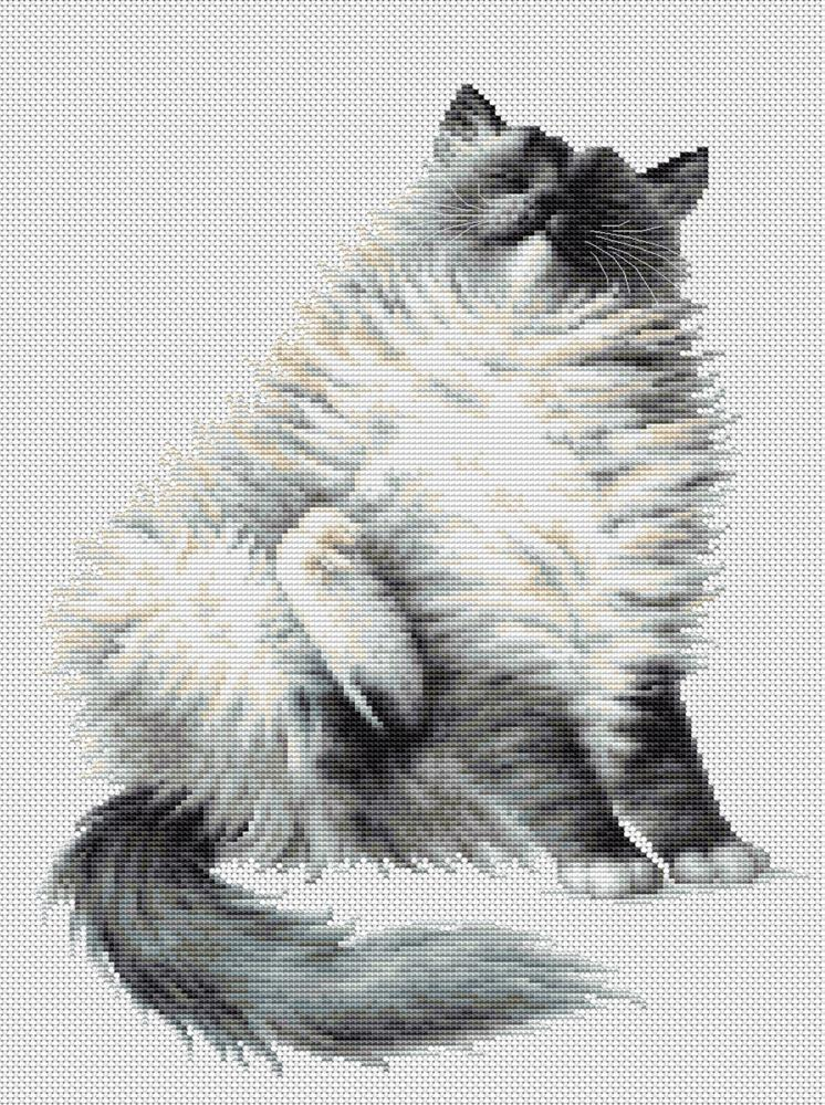 Luca-S Micky Cross Stitch Kit