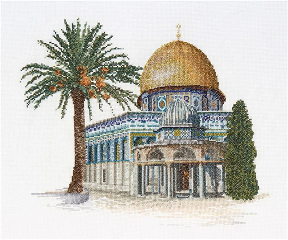 Dome of the Rock - Aida -  Cross Stitch Kit