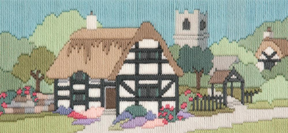 Church Lane -  Long Stitch Kit