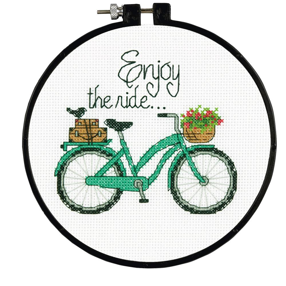Enjoy the Ride -  Cross Stitch Kit