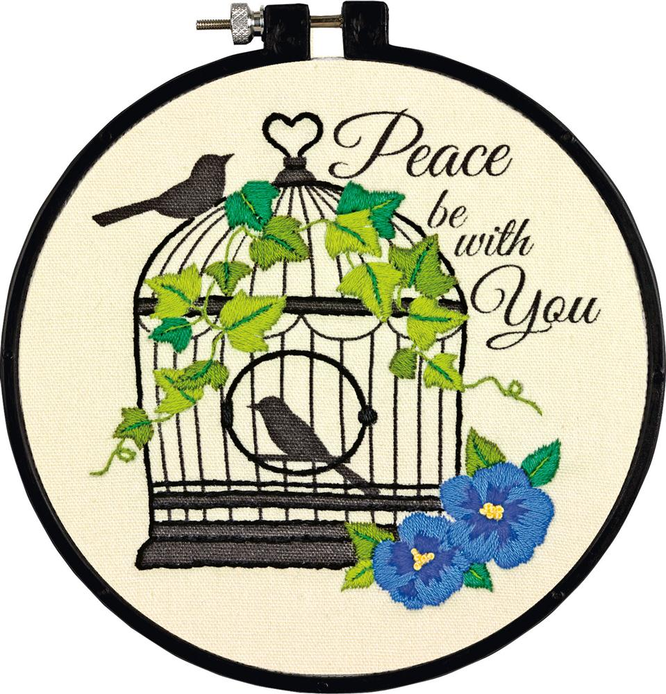 Birdcage -  Embroidery Kit
