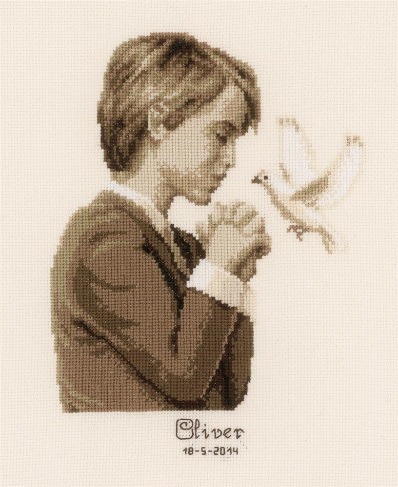 Vervaco Confirmation  - Boy Cross Stitch Kit