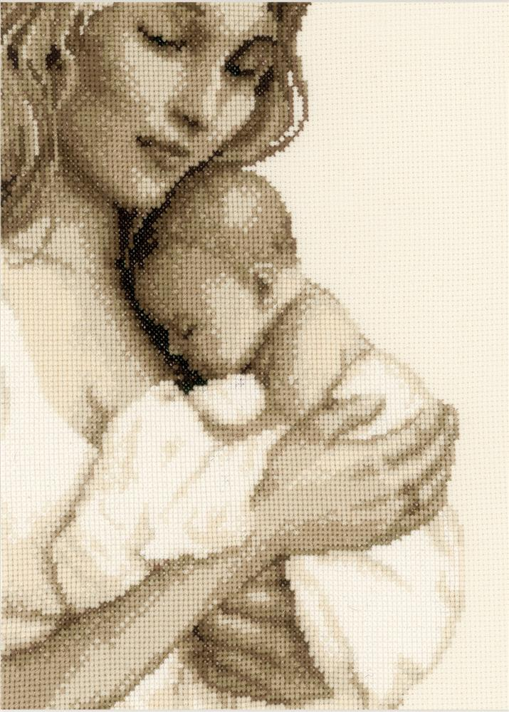 Mother and Child -  Cross Stitch Kit