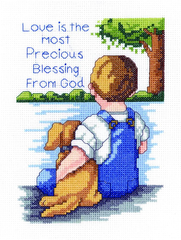 Precious Blessing -  Cross Stitch Kit