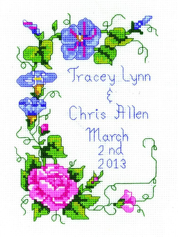Wedding Vine -  Cross Stitch Kit