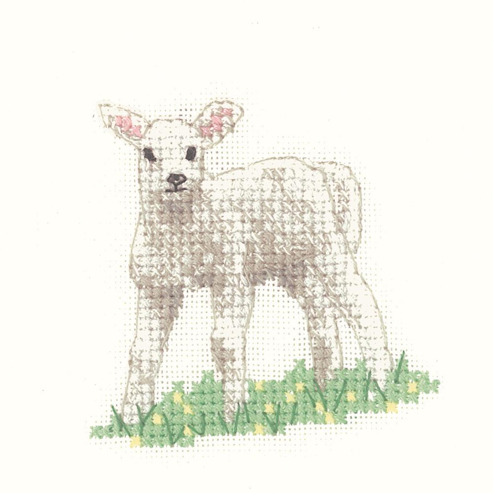 Heritage Lamb - Evenweave Cross Stitch Kit