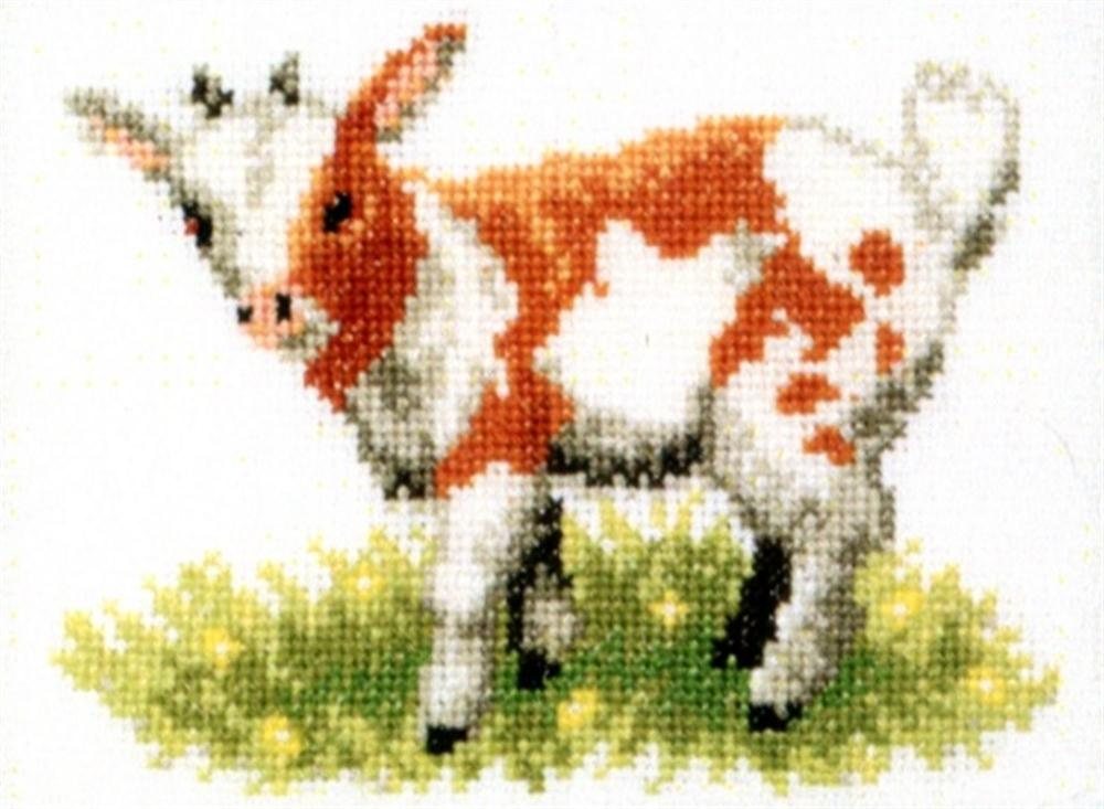 Pako Calf Cross Stitch Kit
