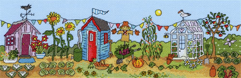 Allotment Fun -  Cross Stitch Kit