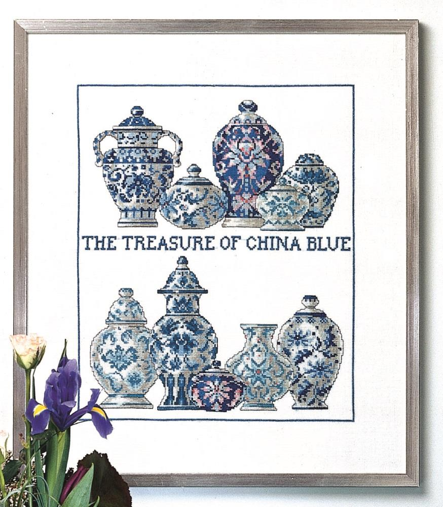 China Blue -  Cross Stitch Kit