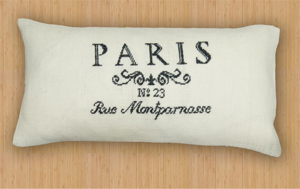Anette Eriksson Paris Premium Cushion Kit Cross Stitch