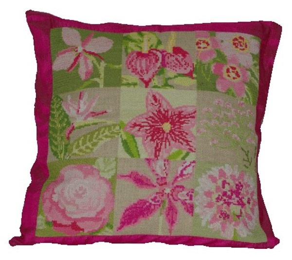 Anette Eriksson Flora Value Cushion Front Cross Stitch Kit